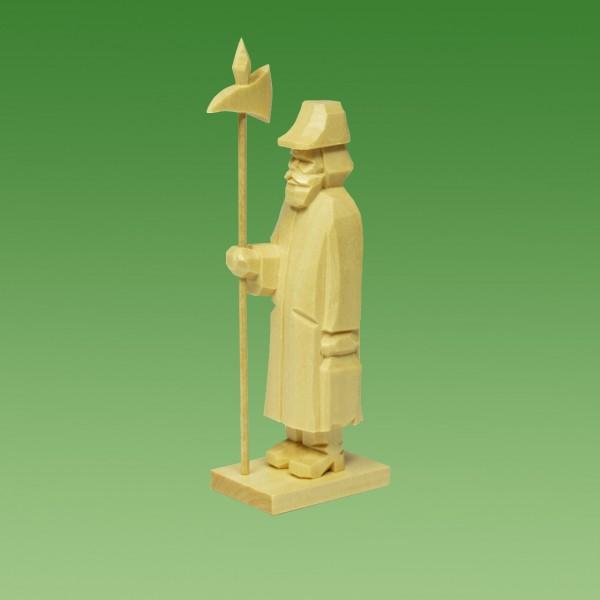 geschnitzter Nachtwächter, 7-9cm, natur