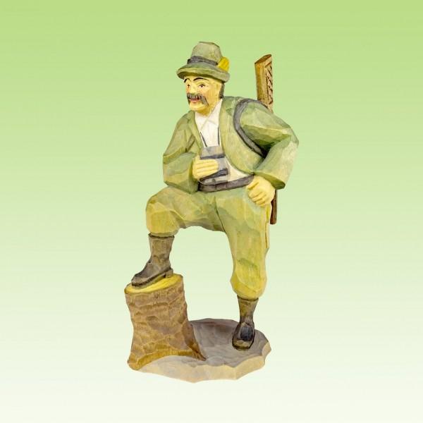 geschnitzter Jäger