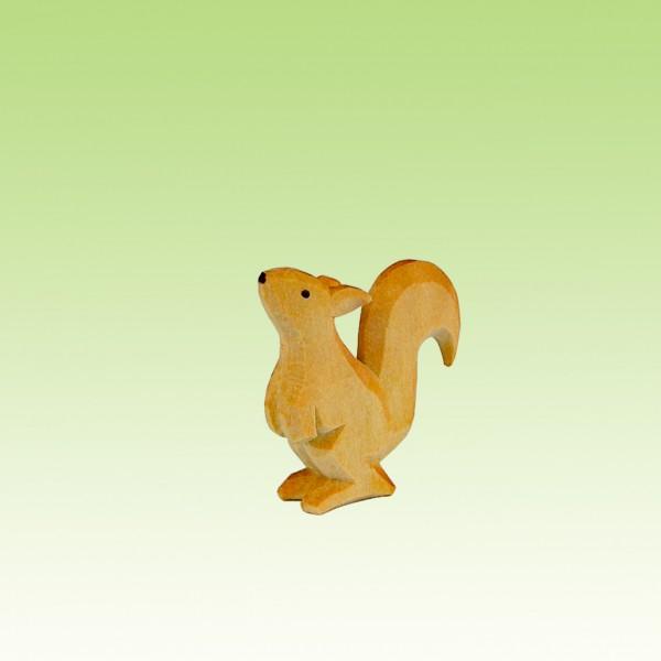 Eichhörnchen schnuppend