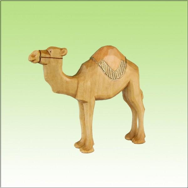 geschnitztes Kamel, 7-10cm, farbig