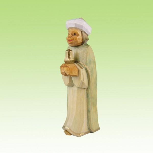 geschnitzter König, Mohr