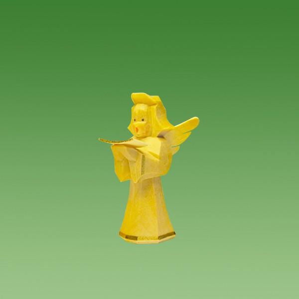 geschnitzter Engel, Sänger