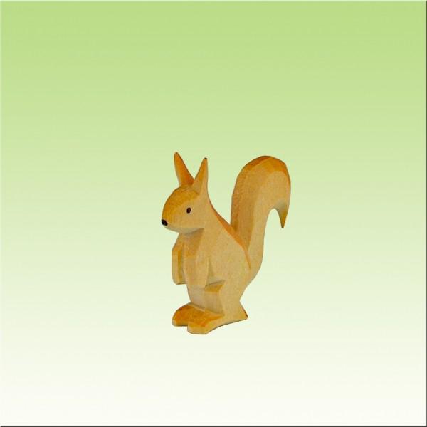 Eichhörnchen stehend, farbig