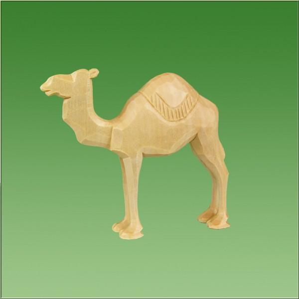 geschnitztes Kamel, 7-10cm, natur