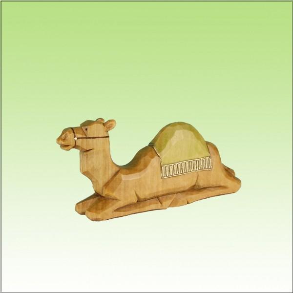 geschnitztes Kamel, 4-5cm, farbig