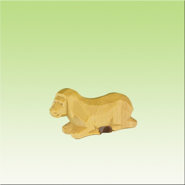 geschnitztes Schaf, 2-3cm, farbig