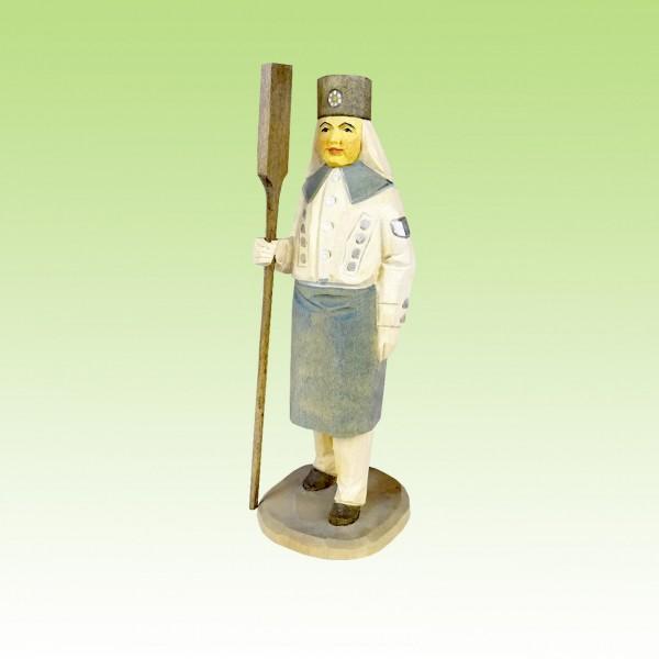 geschnitzter Hüttenwerker