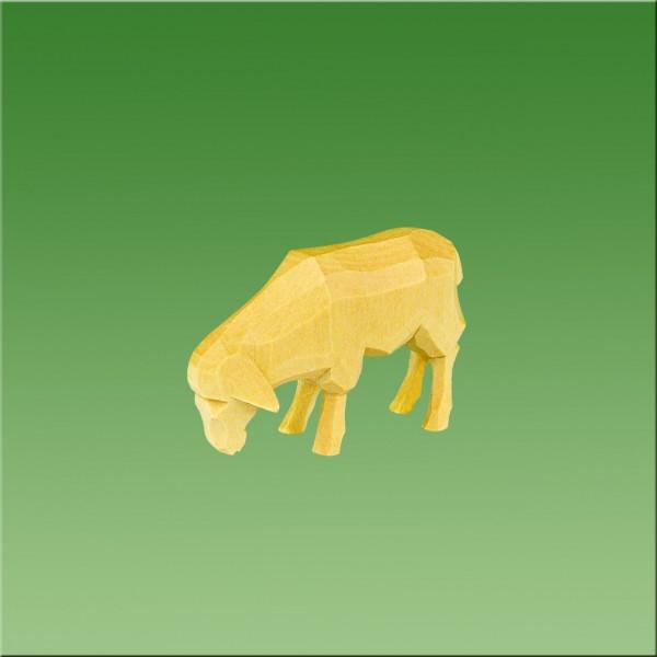 geschnitztes Schaf, 3-4cm, natur