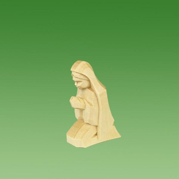 geschnitzte Maria