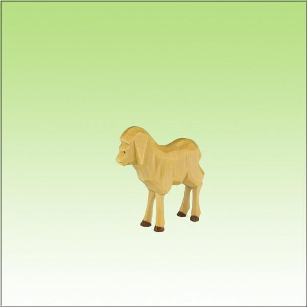 geschnitztes Lamm, 4,5cm, farbig