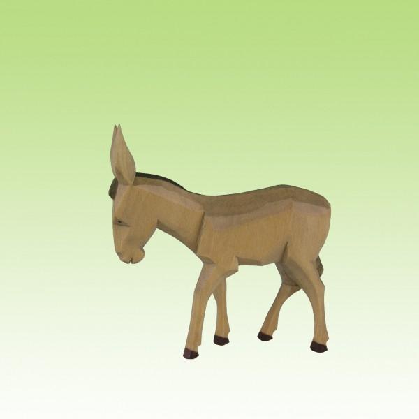 geschnitzter Esel