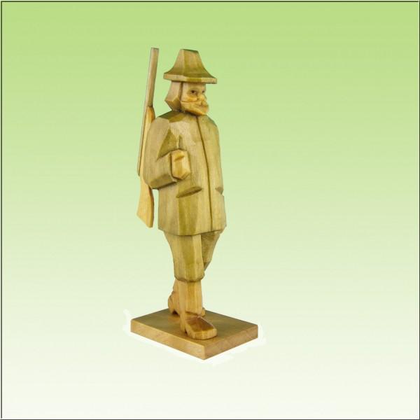 geschnitzter Förster, 9cm farbig