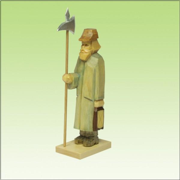 geschnitzter Nachtwächter, 7-9cm, farbig
