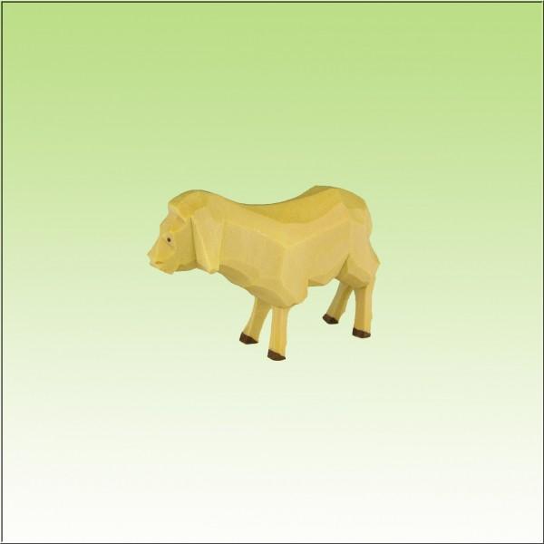 geschnitztes Schaf, 3-4cm, farbig