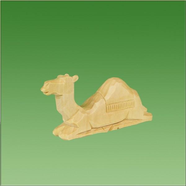 geschnitztes Kamel, 4-5cm, natur