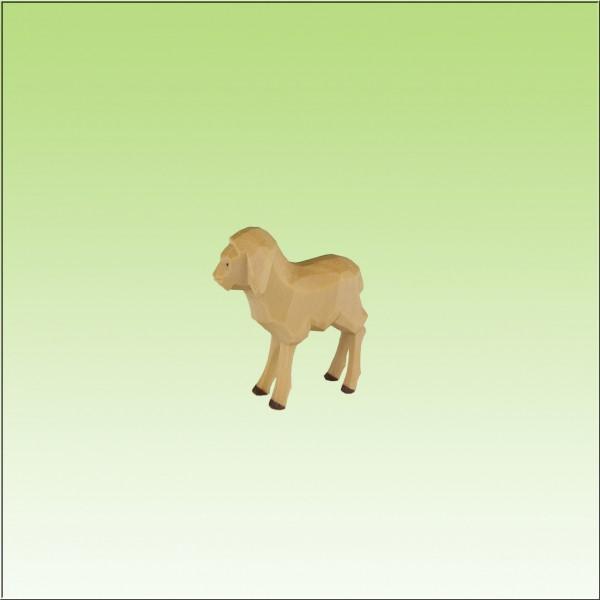 geschnitztes Lamm, 2,5-3,3cm, farbig