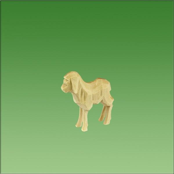 geschnitztes Lamm, 3,5cm, natur