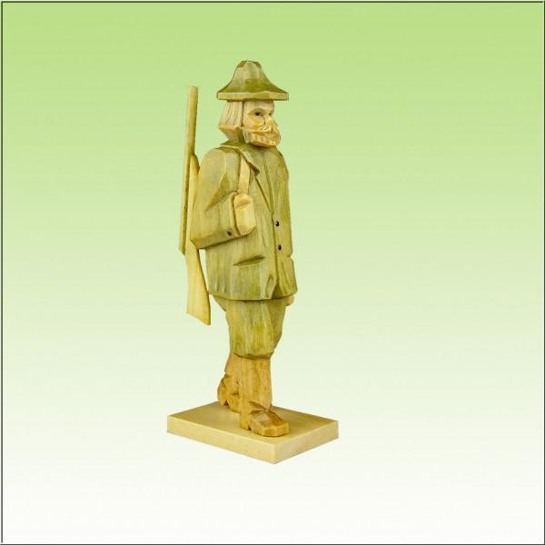 geschnitzter Förster, 12cm farbig
