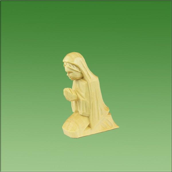 geschnitzte Maria, 8cm, natur