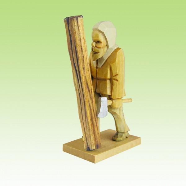 geschnitzter Bergzimmermann